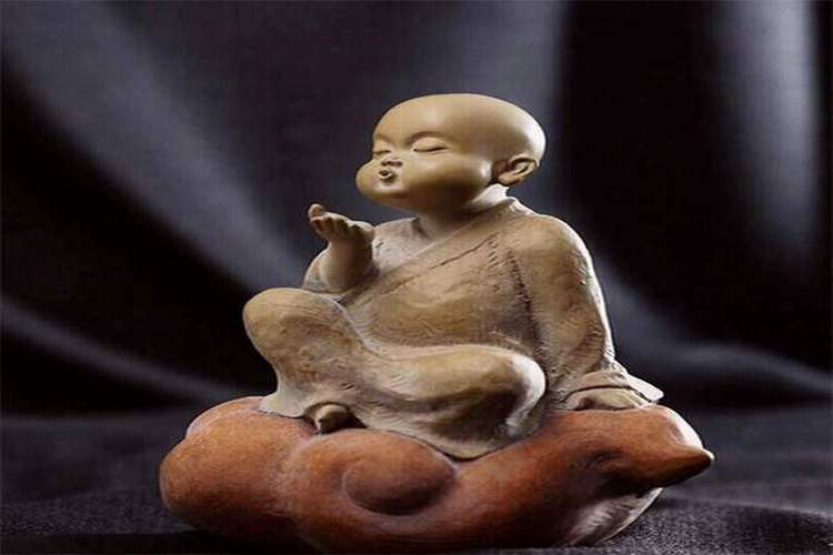 image of little monk
